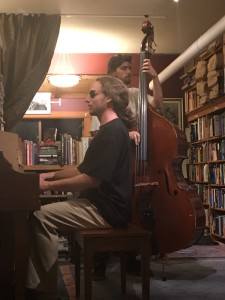 At Bird and Beckett November 2016 with Giulio Cetto, bass Grant Levin, Piano