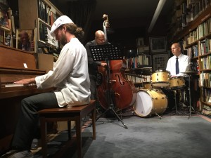 Grant Levin, piano with Joe McKinley, bass and Rick Rivera, drums at Bird and Beckett