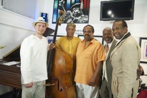 57th Street Gallery: Grant Levin, Kash Killion, Floyd Pellom, Leon Joyce and Kenny Hawkins, May 2012