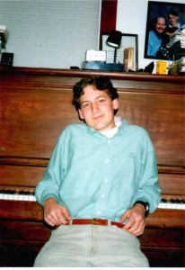 Grant Levin, Senior in High School, 1997