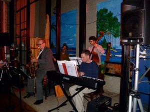 Grant Levin, Noel Jewkes at Broadway Studios, North Beach Nights, Dec 2010