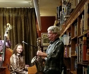 At Bird and Beckett with Francis Vanek, sax, February 2017
